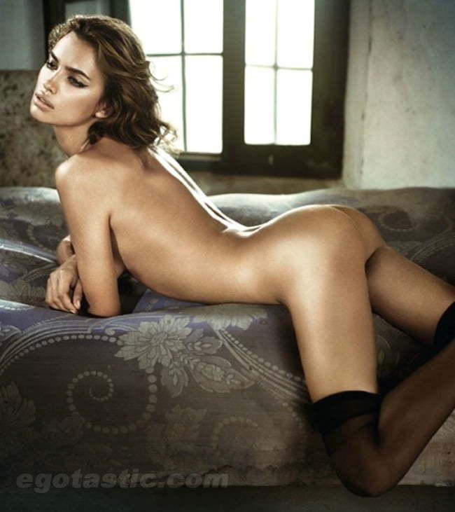 Naked irina Irina Shayk