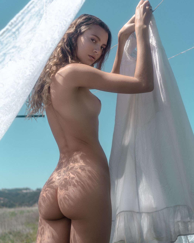 Sydney Maler  nackt