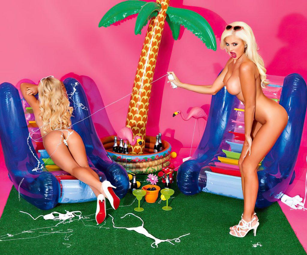 Khloe Terae & April Eve Nude