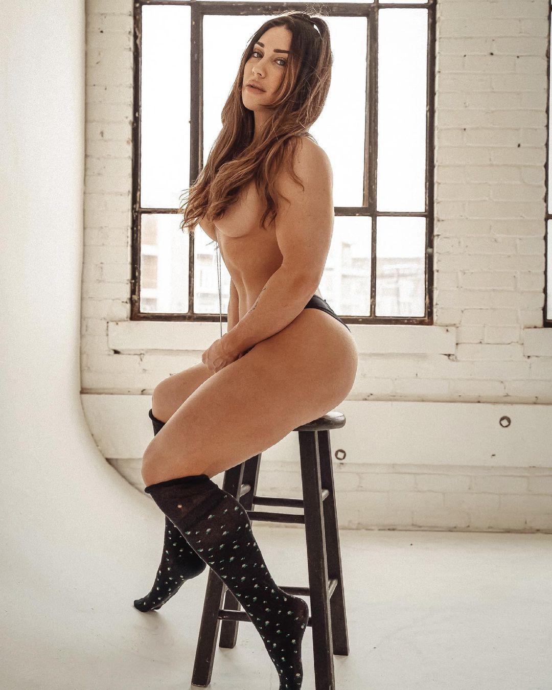 Naked ashley WHOA! Ashley